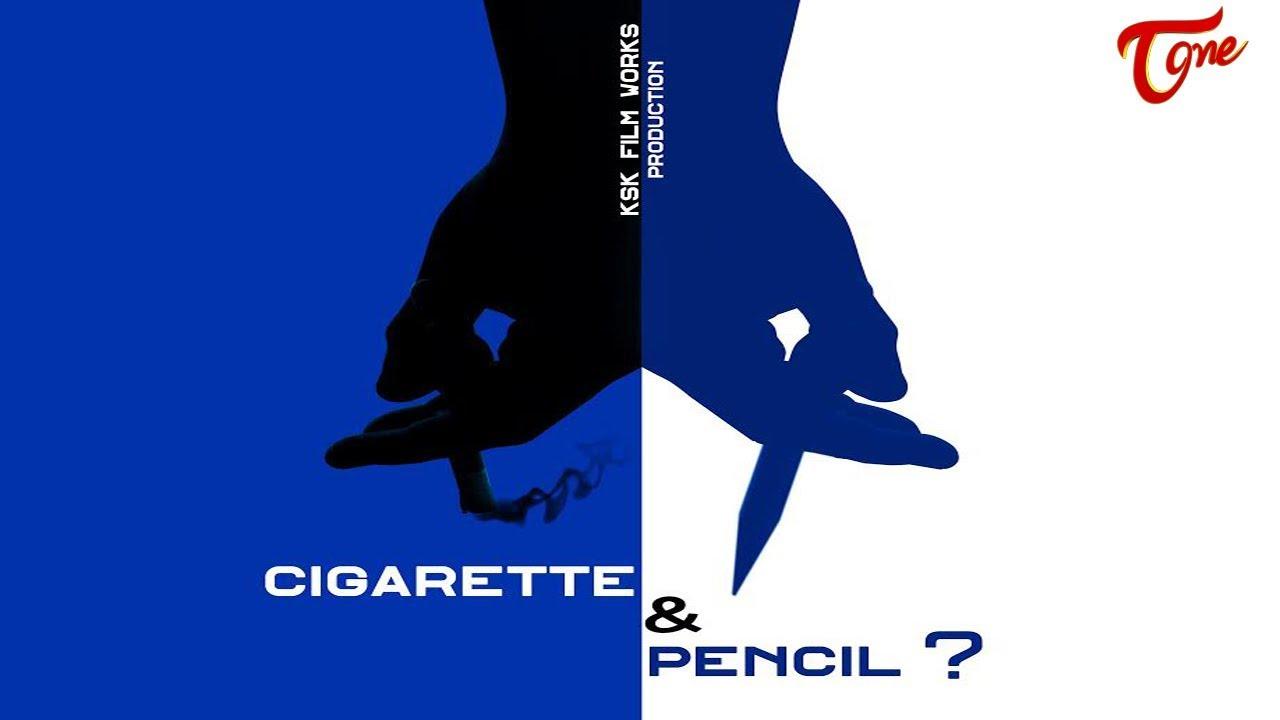 Cigarette & Pencil