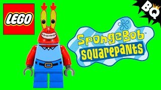 LEGO SpongeBob Mr. Krabs Minifigure Comparison
