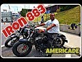 Dbest1a test rides a Harley Davidson Iron 883 at Americade video 6