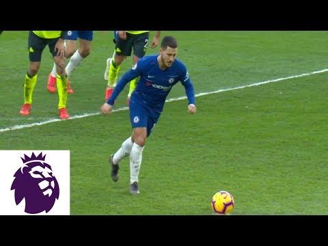 Video: Eden Hazard hits penalty to extend Chelsea's lead against Huddersfield | Premier League | NBC Sports