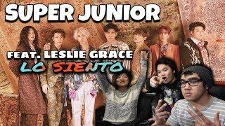 Video SUPER JUNIOR - LO SIENTO (feat. LESLIE GRACE) | [Mv REACTION] MP3, 3GP, MP4, WEBM, AVI, FLV Juli 2018