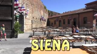 Pelgrimstocht naar Rome etappe 19  Montereggioni  -  Siena