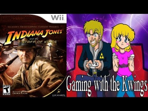 kNIGHTWING01 - In this Episode of Gaming with the Kwings, Amber and Luke play a Long Play of Indiana Jones: the Staff of Kings, a game that was supposed to be a movie, but ...