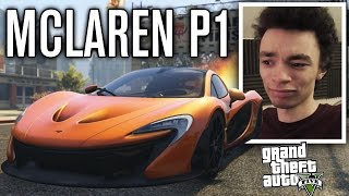 MCLAREN P1 DRAG RACING!!! | GTA 5 Mods
