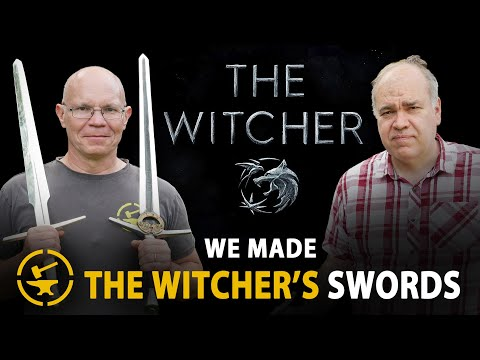 We made THE WITCHER's Swords
