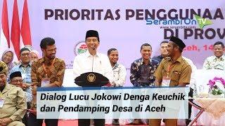 Video Lucu Penuh Tawa, Presiden Jokowi Kalah Telak Dengan Keuchik dan Pendamping Desa di Aceh MP3, 3GP, MP4, WEBM, AVI, FLV Januari 2019