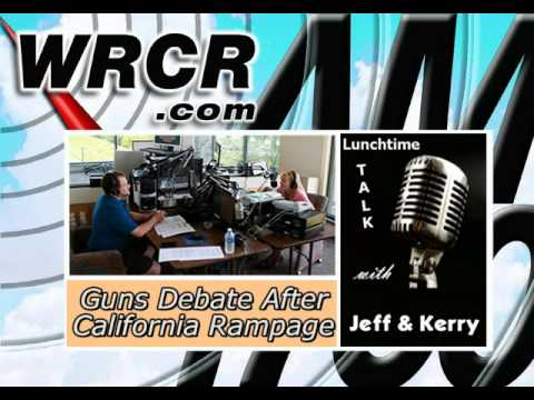 Lunchtime Talk with Jeff & Kerry -- Guns Debate