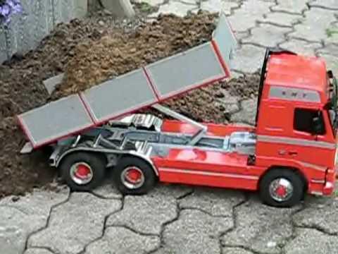 Tamiya Volvo FH12 6x6 Tipper Truck