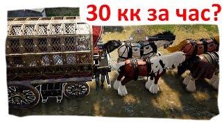 Black Desert Фарм Имперской торговли (5\30кк за час)