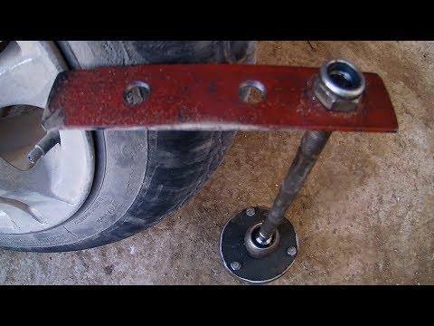 outil pour tester  équilibrage des roues soi-même