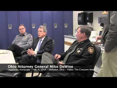 Ohio Attorney General Mike DeWine on marijuana legalization