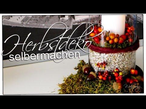 Herbst Deko mit Eicheln basteln -- 36 Id - Youtube Downloader mp3