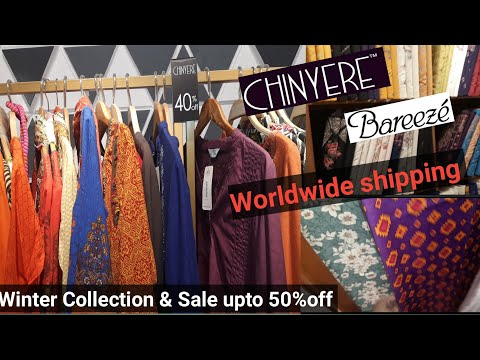 50% off Chinyere & Bareeze Winter Collection- Worldwide shipping- Vlogs for all