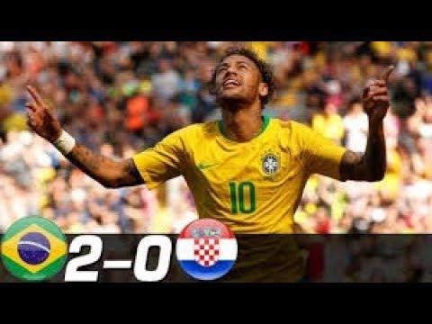 Brazil vs Croatia 2-0 - All Goals & EXTENDED Highlights MELHORES MOMENTOS 2018 HD 720p