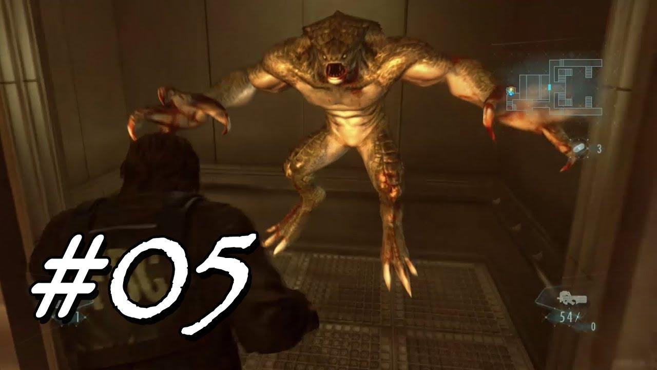 [Let's Play] Resident Evil Revelations – 05 – Hunter in Terragrigia