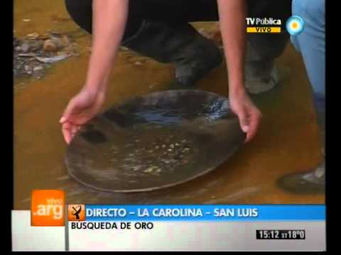 Vivo en Argentina - La Carolina, San Luis - Minas de oro - 30-05-12