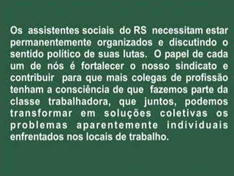 SINDICATO DOS ASSISTENTES SOCIAIS DO RS
