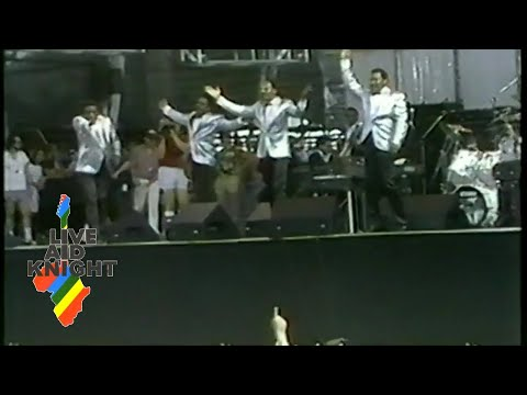 The Four Tops - Full Performance (Live Aid)
