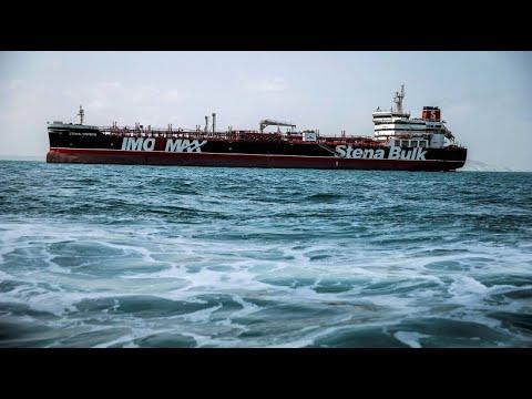 Iran: Britischer Öltanker Stena Impero soll freigelas ...