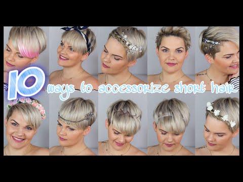 10 einfache Frisuren für kurze Haare   Hochzeit, Wiesn, Alltag, Festival