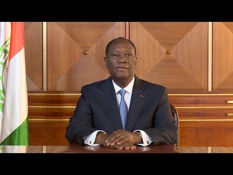 Message de nouvel an 2020 à la Nation du Président Alassane Ouattara du 31 décembre 2019