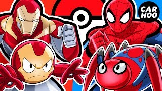 Video What If Iron Man & Spider-man Were Pokémon Trainers 【 MARVEL Superheroes Parody 】 MP3, 3GP, MP4, WEBM, AVI, FLV Agustus 2018