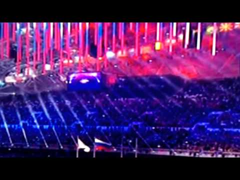 The Russian National Anthem from the 2014 Winter Olympics