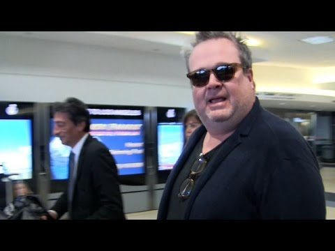 Eric Stonestreet Chats About New Show 'The Toy Box' At LAX