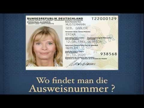 ausweisnummer neuer personalausweis}