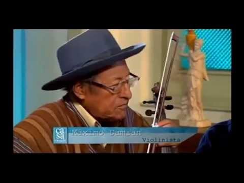 Máximo Damián – violinista andino /Coca Kintucha traducida al español