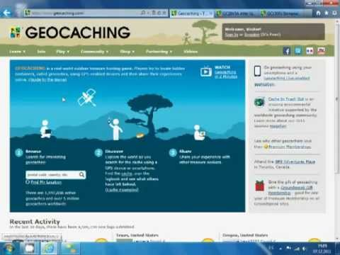 Video of GeoFormel PRO - 4 Geocaching