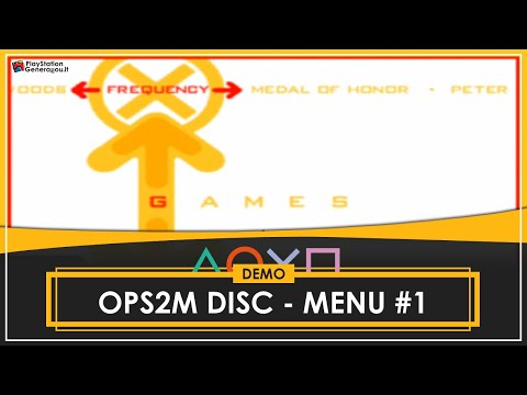 Official PlayStation 2 Magazine (OPS2M) - Demo Disc - Main Menu #1