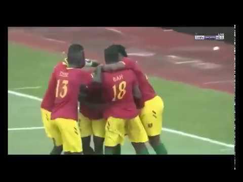 Résumé GUINEE vs NIGER   petite finale CAN U17