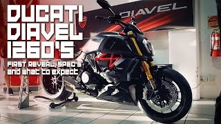 2. The Ducati Diavel 1260S First look and Specs