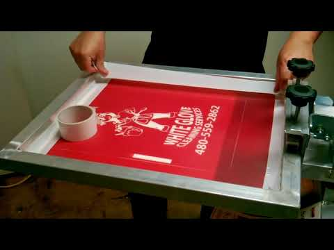 Screen Printing Process From Start To Finish, Thanks To Ryonet!