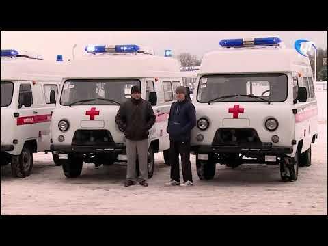 Прибыли первые школьные автобусы и кареты «Скорой помощи», которые регион получил из Москвы