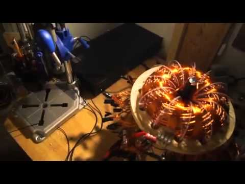 Unification Coil Ozone Generator!! Tesla Science!!