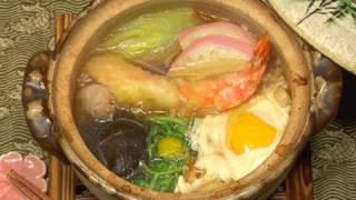 How to Make Nabeyaki Udon Noodles (Udon Hot Pot Recipe with Shrimp Tempura)   Cooking with Dog