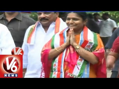 Telangana congress leaders group politics silly fights  Medak
