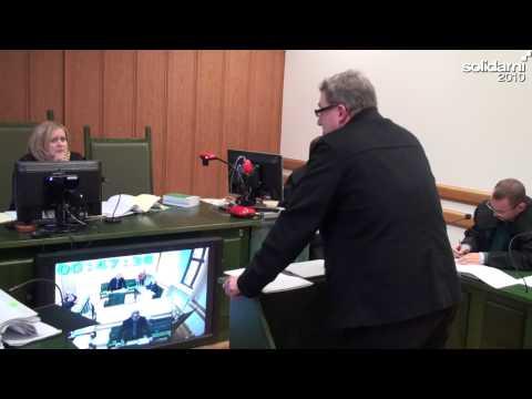 Grzegorz Braun na procesie Jana Pospieszalskiego - 17.09.2013