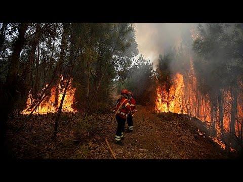 Πορτογαλία: «Καίγεται» επί μία εβδομάδα