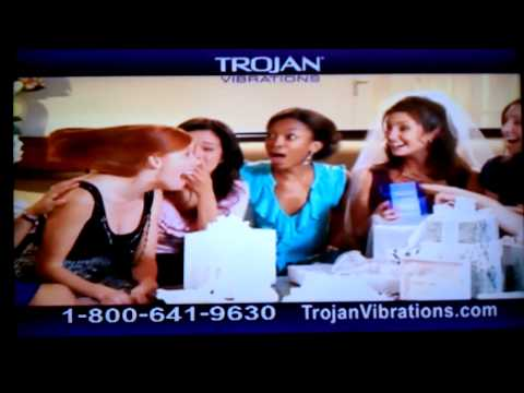Trojan vibrator commercial
