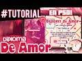 "Regala un Diploma de Amor (PSD) ♥ ""San valentin 2014"""