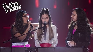 Video Manu, Mariana y Dani cantan Price Tag - Batallas| La Voz Kids Colombia 2018 MP3, 3GP, MP4, WEBM, AVI, FLV Juni 2019