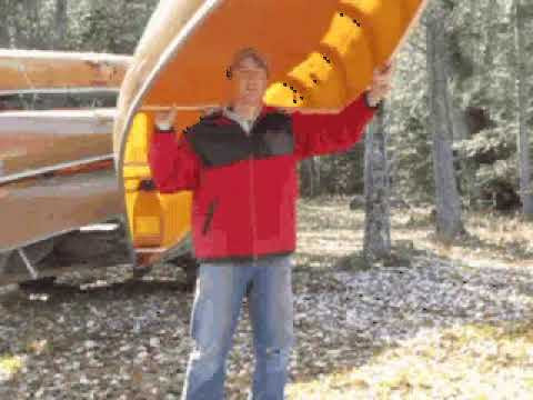 How to Portage a Canoe in the Boundary Waters & Quetico Wilderness