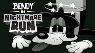 MAH BUDDY BORIS VS THE CRAZY TAXI BOSS | Bendy In Nightmare Run #2