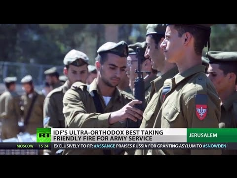 Hasidic - Israelis serving in the army are facing some of their biggest battles on home soil. Ultra-Orthodox jews enlisted in the army are coming under attack from the...