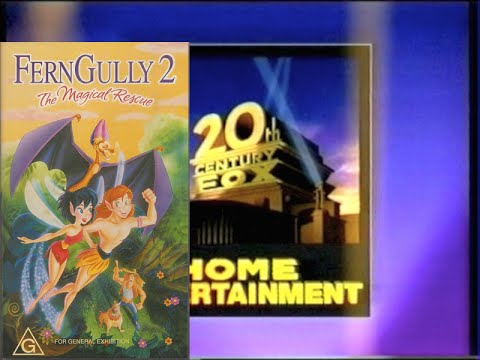 Opening To Ferngully 2 1998 VHS (Australia)