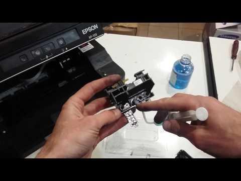 самостоятельная чистка струйных принтеров результате термобелье
