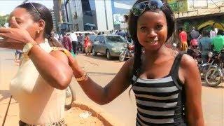 A white man alone in Africa ! Downtown Kampala, Uganda